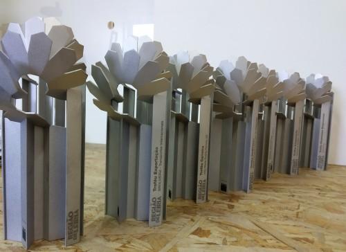 Gravação laser troféus alumínio