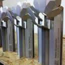 gravação laser em troféus de alumínio